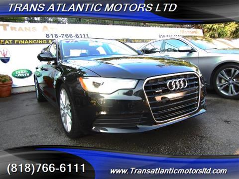 2012 Audi A6 for sale in Studio City, CA