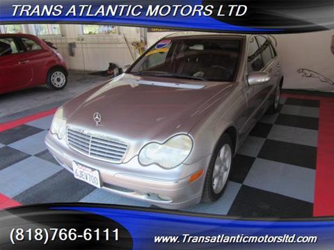 2004 Mercedes-Benz C-Class for sale in Studio City CA