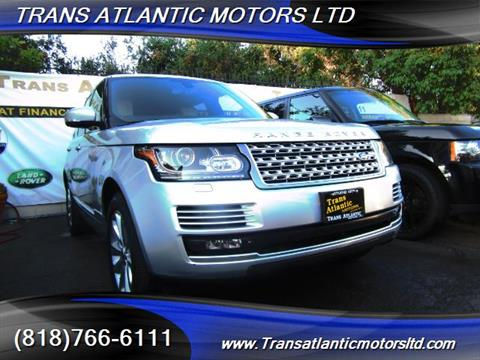 2013 Land Rover Range Rover for sale in Studio City, CA