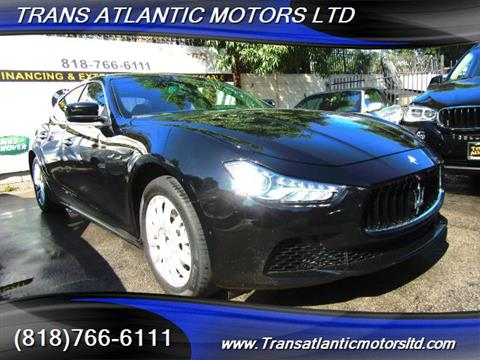 2014 Maserati Ghibli for sale in Studio City, CA