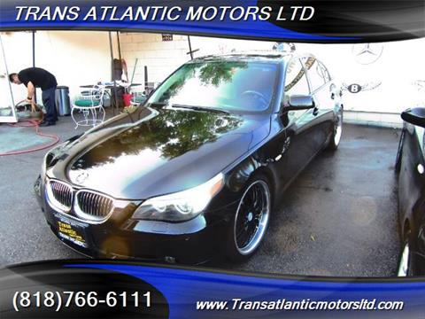 2006 BMW 5 Series for sale in Studio City CA