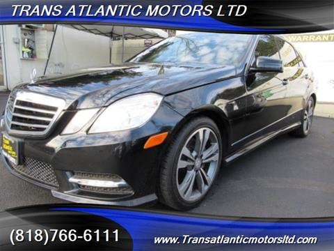 2013 Mercedes-Benz E-Class for sale in Studio City, CA