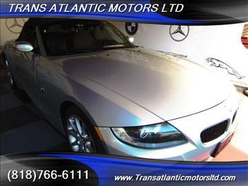 2006 BMW Z4 for sale in Studio City, CA