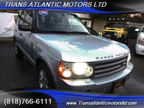 2006 Land Rover Range Rover for sale in Studio City, CA
