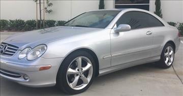 2005 Mercedes-Benz CLK for sale in Corona CA