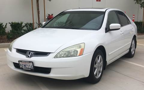 2004 Honda Accord for sale in Corona CA