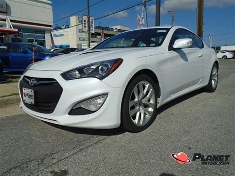 2015 Hyundai Genesis Coupe for sale in Hempstead, NY