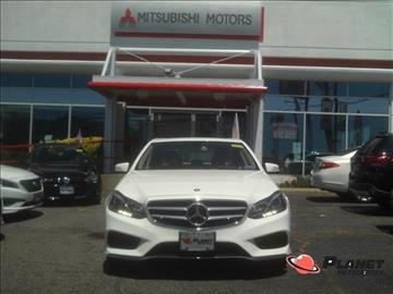 2014 Mercedes-Benz E-Class for sale in Hempstead, NY