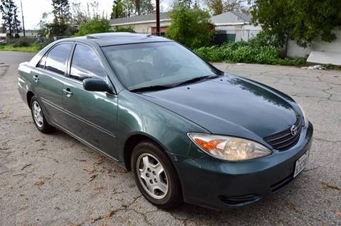 2002 Toyota Camry for sale in Van Nuys, CA