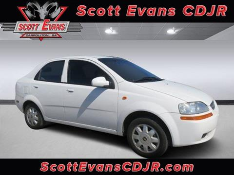 2004 Chevrolet Aveo for sale in Carrollton, GA