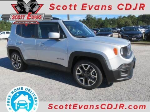2018 Jeep Renegade for sale at SCOTT EVANS CHRYSLER DODGE in Carrollton GA