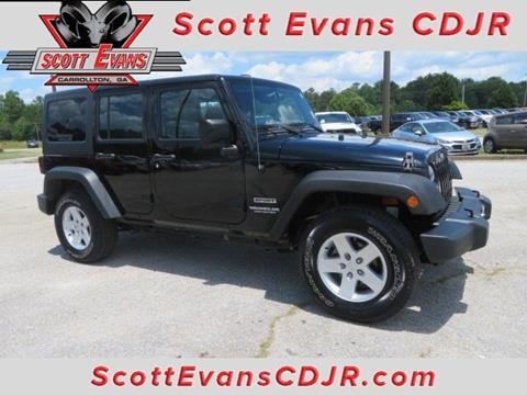 2013 Jeep Wrangler Unlimited for sale in Carrollton, GA