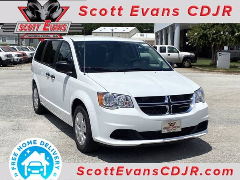 2020 Dodge Grand Caravan for sale at SCOTT EVANS CHRYSLER DODGE in Carrollton GA