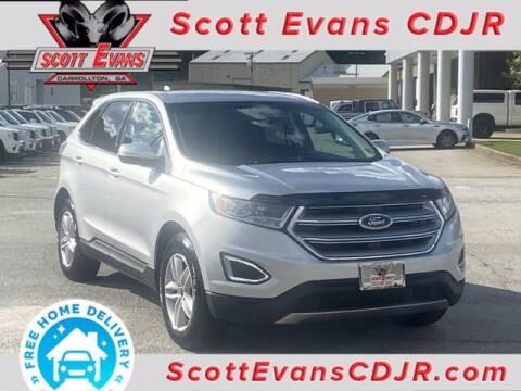 2017 Ford Edge for sale at SCOTT EVANS CHRYSLER DODGE in Carrollton GA