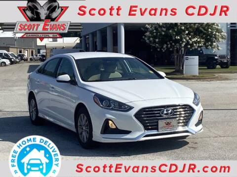 2019 Hyundai Sonata for sale at SCOTT EVANS CHRYSLER DODGE in Carrollton GA