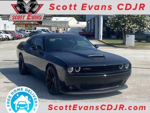 2019 Dodge Challenger for sale at SCOTT EVANS CHRYSLER DODGE in Carrollton GA