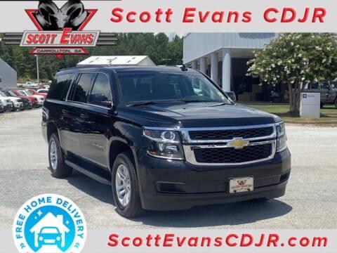 2019 Chevrolet Suburban for sale at SCOTT EVANS CHRYSLER DODGE in Carrollton GA