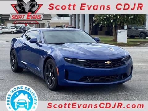 2020 Chevrolet Camaro for sale at SCOTT EVANS CHRYSLER DODGE in Carrollton GA