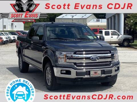 2020 Ford F-150 for sale at SCOTT EVANS CHRYSLER DODGE in Carrollton GA