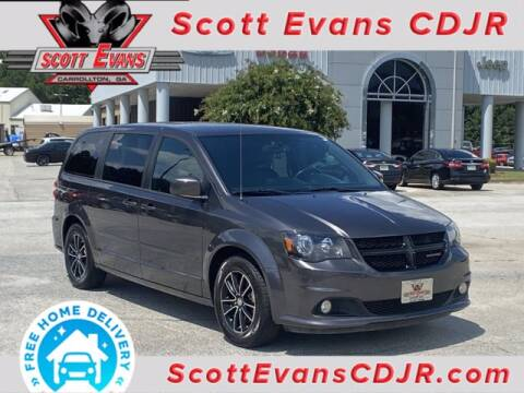 2016 Dodge Grand Caravan for sale at SCOTT EVANS CHRYSLER DODGE in Carrollton GA