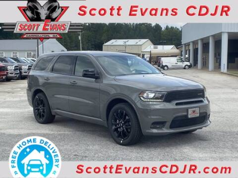 2020 Dodge Durango for sale at SCOTT EVANS CHRYSLER DODGE in Carrollton GA