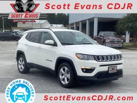 2021 Jeep Compass for sale at SCOTT EVANS CHRYSLER DODGE in Carrollton GA