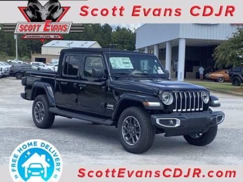 2020 Jeep Gladiator for sale at SCOTT EVANS CHRYSLER DODGE in Carrollton GA