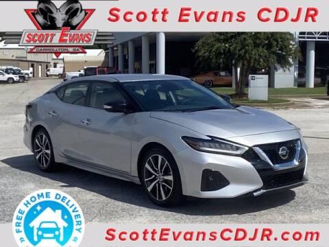 2020 Nissan Maxima for sale at SCOTT EVANS CHRYSLER DODGE in Carrollton GA