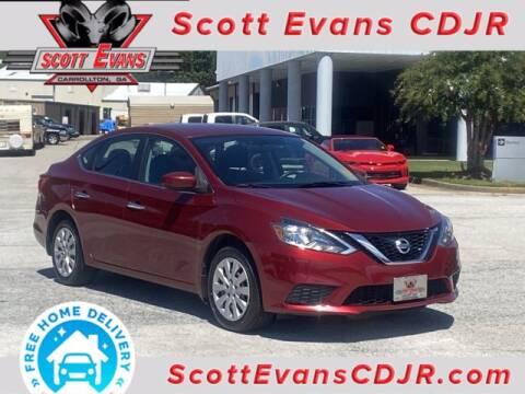 2017 Nissan Sentra for sale at SCOTT EVANS CHRYSLER DODGE in Carrollton GA