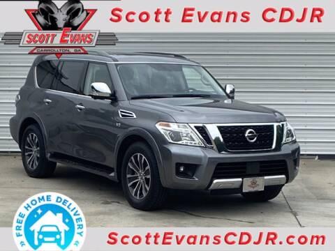 2018 Nissan Armada for sale at SCOTT EVANS CHRYSLER DODGE in Carrollton GA