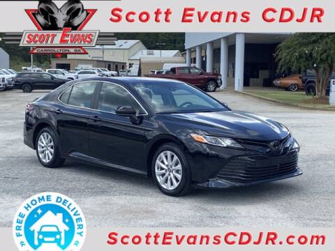 2020 Toyota Camry for sale at SCOTT EVANS CHRYSLER DODGE in Carrollton GA