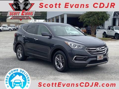2017 Hyundai Santa Fe Sport for sale at SCOTT EVANS CHRYSLER DODGE in Carrollton GA