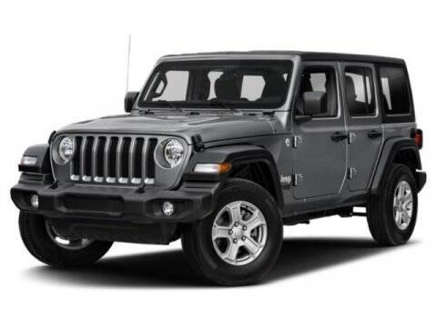 2021 Jeep Wrangler Unlimited for sale at SCOTT EVANS CHRYSLER DODGE in Carrollton GA
