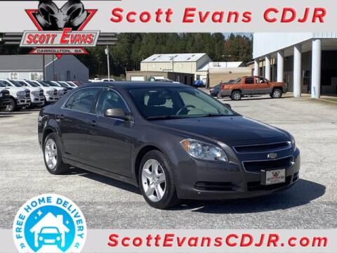 2011 Chevrolet Malibu for sale at SCOTT EVANS CHRYSLER DODGE in Carrollton GA
