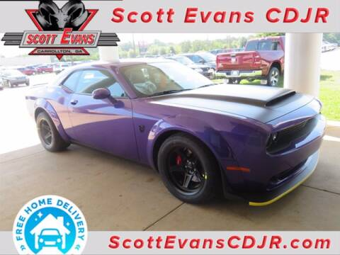 2018 Dodge Challenger for sale at SCOTT EVANS CHRYSLER DODGE in Carrollton GA
