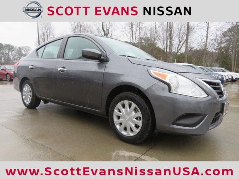 2019 Nissan Versa Sv 4dr Sedan In Carrollton Ga Scott Evans Nissan