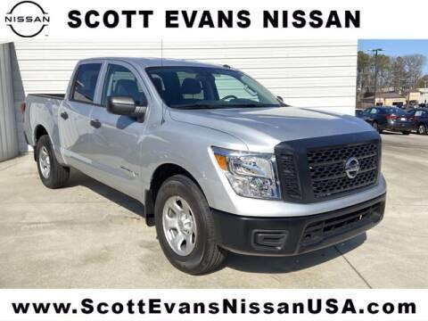 2019 Nissan Titan for sale at Scott Evans Nissan in Carrollton GA