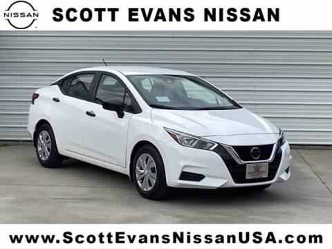 2020 Nissan Versa for sale at Scott Evans Nissan in Carrollton GA