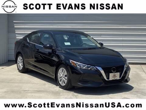 2020 Nissan Sentra for sale at Scott Evans Nissan in Carrollton GA