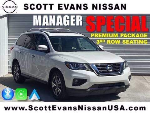 2017 Nissan Pathfinder for sale at Scott Evans Nissan in Carrollton GA