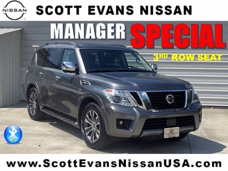 2019 Nissan Armada for sale at Scott Evans Nissan in Carrollton GA