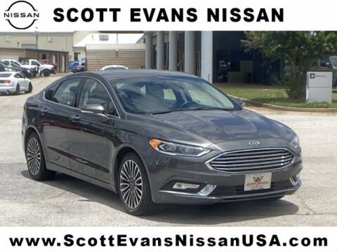 2018 Ford Fusion for sale at Scott Evans Nissan in Carrollton GA