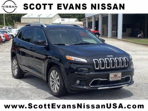 2017 Jeep Cherokee for sale at Scott Evans Nissan in Carrollton GA