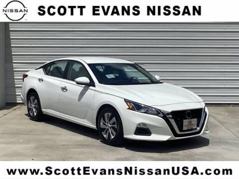2020 Nissan Altima for sale at Scott Evans Nissan in Carrollton GA
