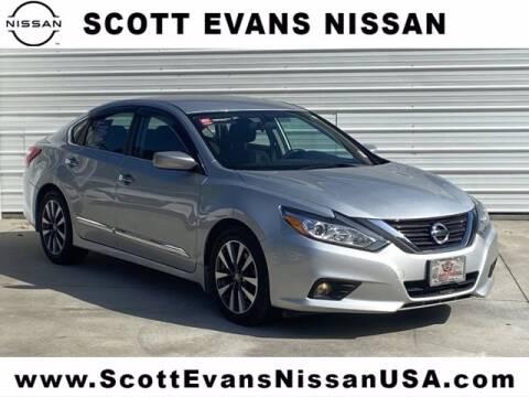 2016 Nissan Altima for sale at Scott Evans Nissan in Carrollton GA
