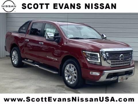 2020 Nissan Titan for sale at Scott Evans Nissan in Carrollton GA