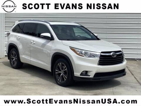 2016 Toyota Highlander for sale at Scott Evans Nissan in Carrollton GA
