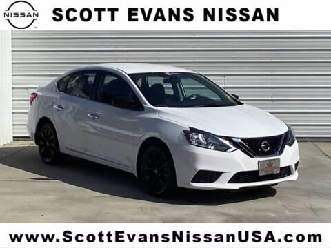 2018 Nissan Sentra for sale at Scott Evans Nissan in Carrollton GA