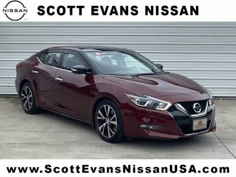 2018 Nissan Maxima for sale at Scott Evans Nissan in Carrollton GA