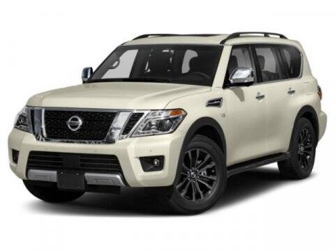 2019 Nissan Armada for sale at Scott Evans Nissan in Carrollton GA